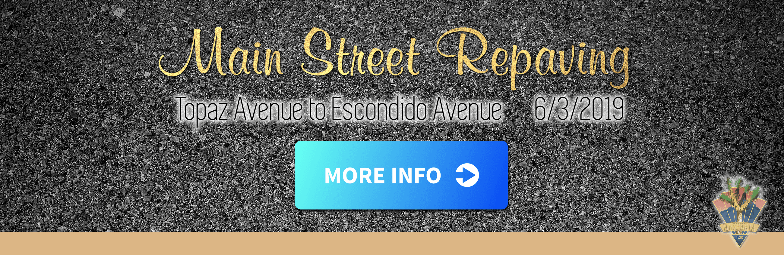 Main Street Repaving Project - June 2019