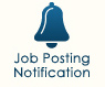 Click here to be notified about new job postings.